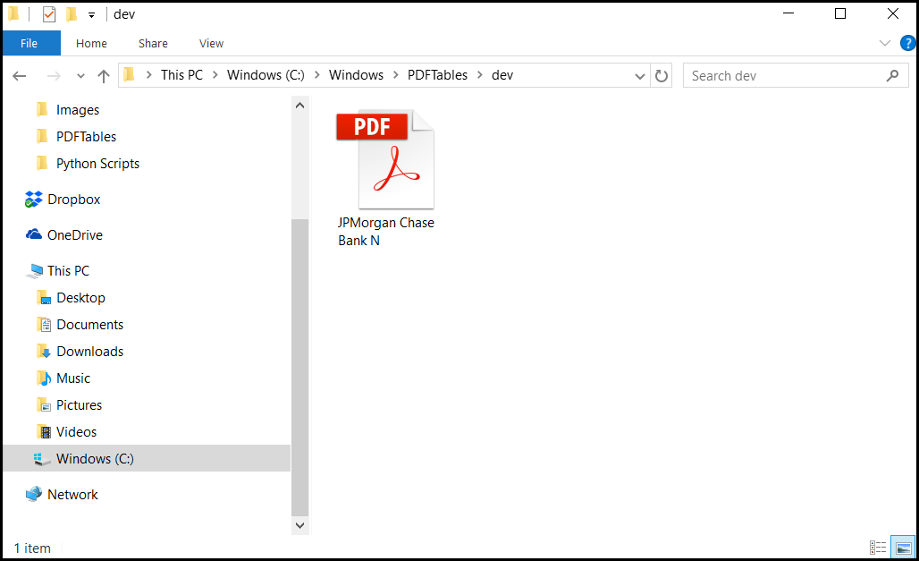 Convert PDF Bank Statements to CSV or Excel - Free  — PDFTables