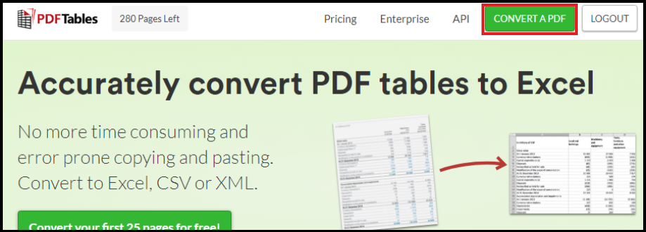 How to convert PDF into HTML — PDFTables