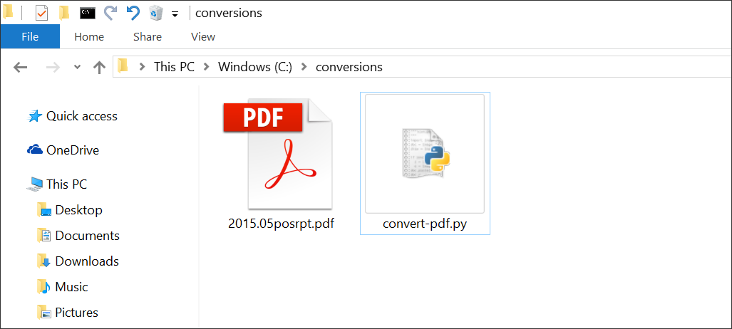 Convert PDF to Excel, CSV or XML with Python — PDFTables