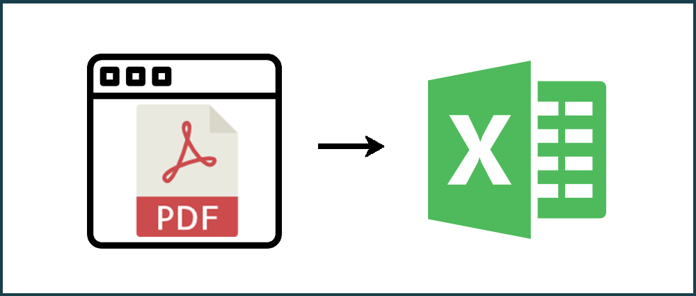 How to convert a PDF to Excel from a website URL