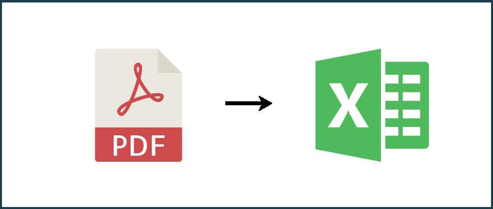 How to save PDF to Excel