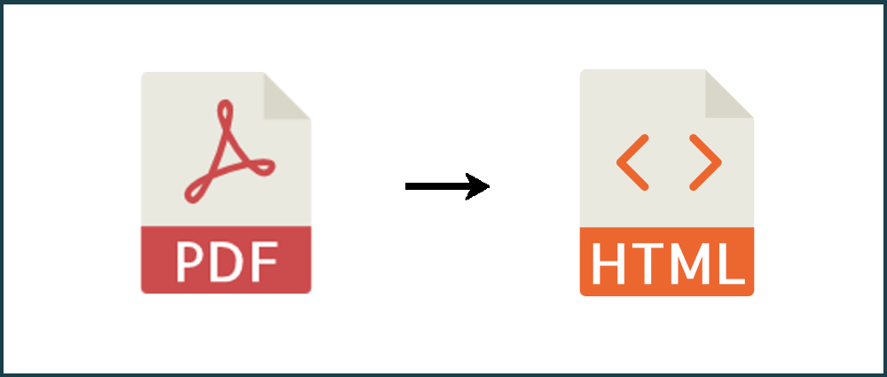 How to convert PDF into HTML