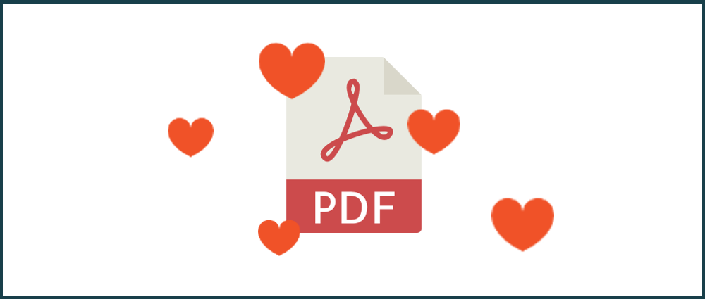PDFs continue to become more popular every year