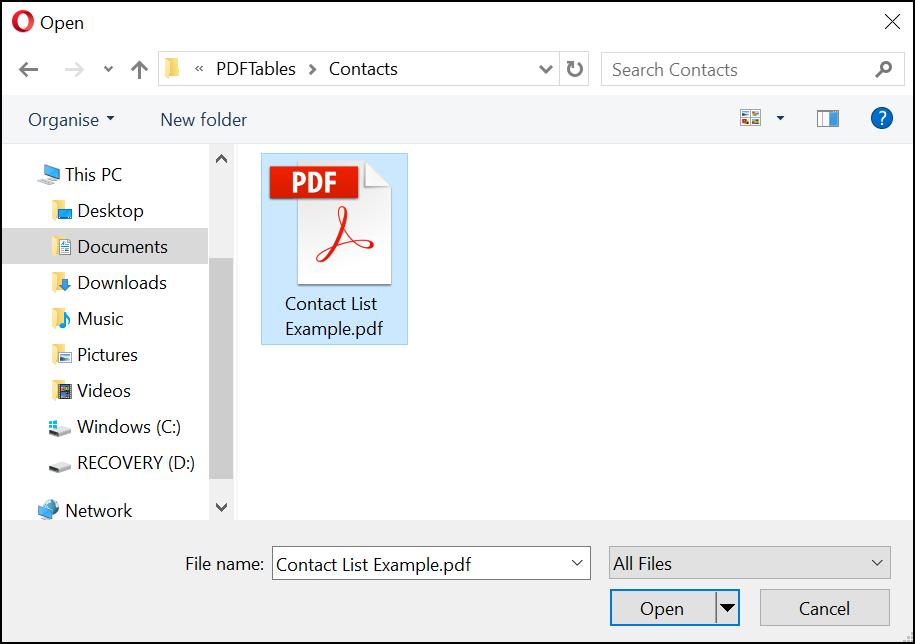 TXT File to VCF vcard File Converter Online - Usamah Computer